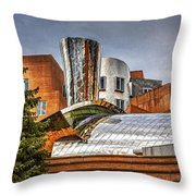 Mit Stata Building Center - Cambridge Throw Pillow