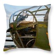 Mitchell Bomber Throw Pillow