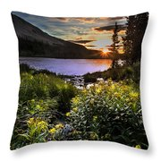 Mitchell Sunrise Throw Pillow