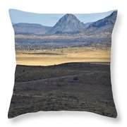 Miter Peak Throw Pillow