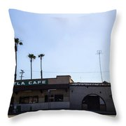 Mitla Cafe 2 Throw Pillow