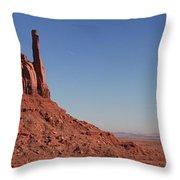 Mittens Landscape Throw Pillow