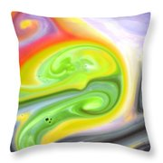 Mix And Dream Throw Pillow