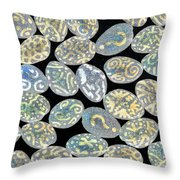 Mixed Questions Throw Pillow