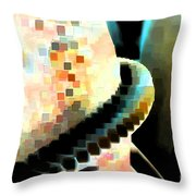 Mixing Cement Throw Pillow