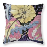 Miz Fleur Throw Pillow