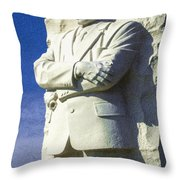 Mlk 5211 Colored Photo 1 Throw Pillow