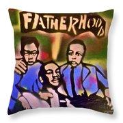 Mlk Fatherhood 2 Throw Pillow