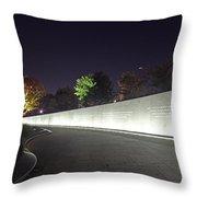 Mlk Memorial0379 Throw Pillow