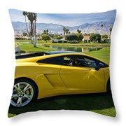 Mmmm California Throw Pillow