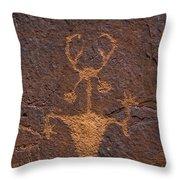 Moab Man - Fs000397 Throw Pillow