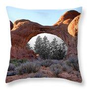 Moab Snow Globe Throw Pillow