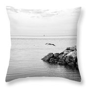 Mobile Bay 10 Throw Pillow