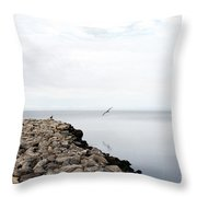 Mobile Bay 7 Throw Pillow