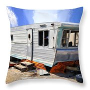 Mobile Science Project Throw Pillow