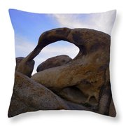 Mobius Arch Throw Pillow
