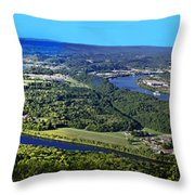 Moccasin Bend Throw Pillow
