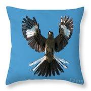 Mocking An Angel Throw Pillow