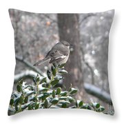 Mockingbird Cold Throw Pillow