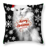 Mod Cards - I'm A Star Baby I'm Christmas Star II - Merry Christmas Throw Pillow