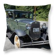 Model A Throw Pillow