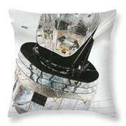 Model Of Planck Space Observatory Throw Pillow