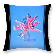 Model Plane 12 Throw Pillow