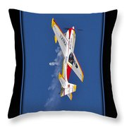 Model Plane 9 Throw Pillow
