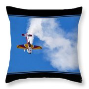 Model Plane Throw Pillow
