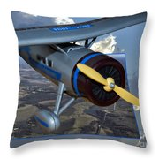 Model Planes Top Wing 04 Throw Pillow