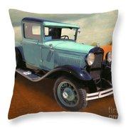 Model T Throw Pillow