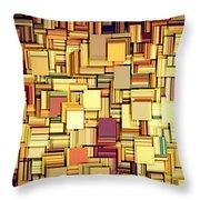 Modern Abstract Xxi Throw Pillow