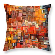 Modern Abstract Xxxi Throw Pillow
