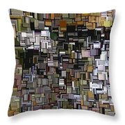 Modern Abstract Xxxii Throw Pillow