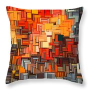 Modern Abstract Xxxiv Throw Pillow