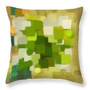 Modern Abstract Xxxv Throw Pillow