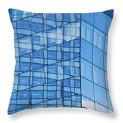 Modern Architecture Abstract Throw Pillow