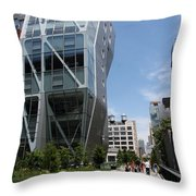 Modern Architecture - Nyc Throw Pillow