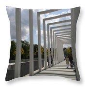 Modern Archway - Schwerin Garden -  Germany Throw Pillow