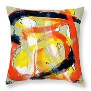 Modern Art Eighteen Throw Pillow