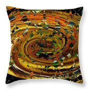 Modern Art II Throw Pillow