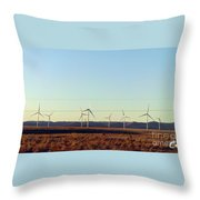 Modern Blinding Power A Throw Pillow