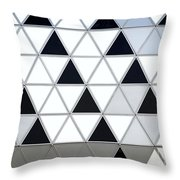 Modern Building Facade Detail Throw Pillow