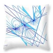 Modern Drawing Eighty-eight Throw Pillow