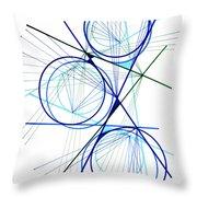 Modern Drawing Fifty-seven Throw Pillow