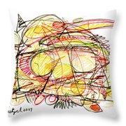 Modern Drawing Seventy-eight Throw Pillow