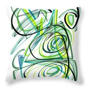 Modern Drawing Sixty Throw Pillow