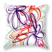 Modern Drawing Sixty-six Throw Pillow