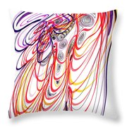 Modern Drawing Sixty-three Throw Pillow
