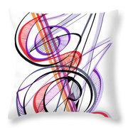Modern Drawing Sixty-two Throw Pillow